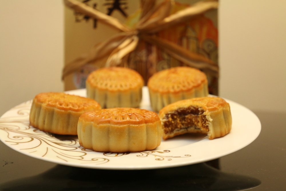 Chinese traditional moon cakes